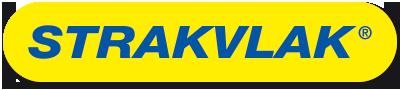 Ovaal strakvlak logo in blauw en geel