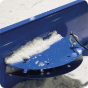 Strakschuif sneeuwschuiver